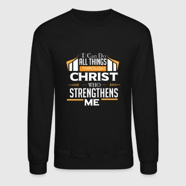 Religion Sayings Jesus God Bible - Crewneck Sweatshirt