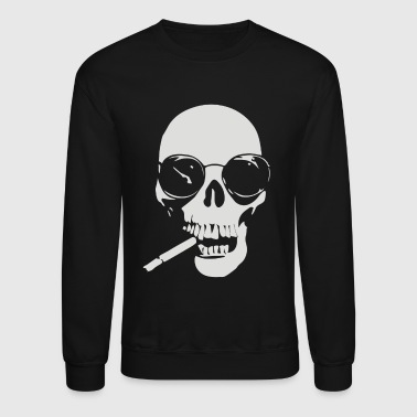 with cigare - Crewneck Sweatshirt