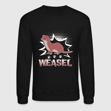 Weasel Cute Shirt - Crewneck Sweatshirt