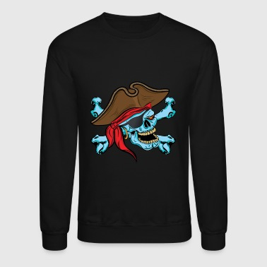Pirate Skull - Crewneck Sweatshirt