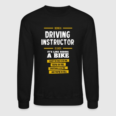 driving instructor - Crewneck Sweatshirt