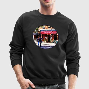 Boston MA - Hanover Street North End - Crewneck Sweatshirt