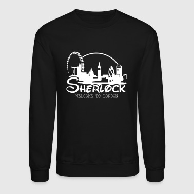 Sherlock Welcome To London - Crewneck Sweatshirt
