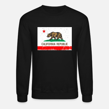 California Vintage Flag R&B - Crewneck Sweatshirt