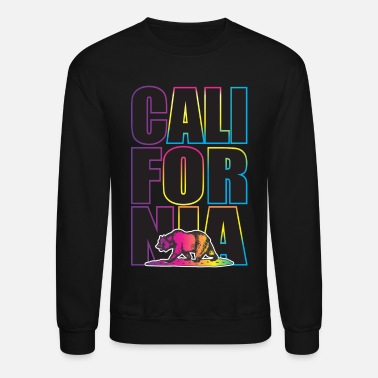 California Multi Colors - Crewneck Sweatshirt