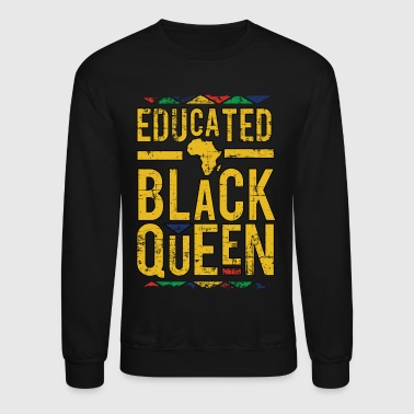 Melanin Civil Rights Queen - Crewneck Sweatshirt