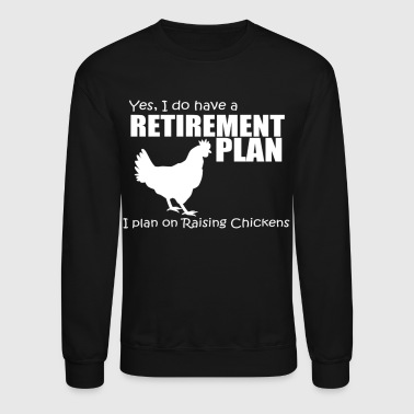 Plan RETIREMENT PLAN - Crewneck Sweatshirt