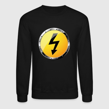 high voltage - Crewneck Sweatshirt