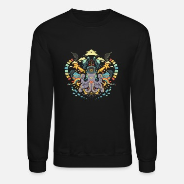 Sea The Symmetry Sea the Symmetry - Unisex Crewneck Sweatshirt