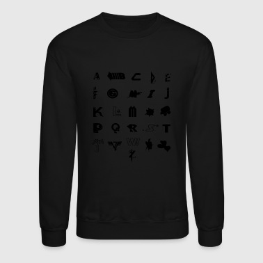 A is for 80s - Crewneck Sweatshirt