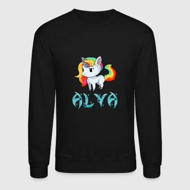 Alva Unicorn - Crewneck Sweatshirt