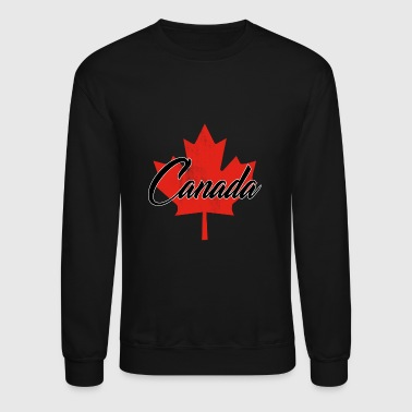 CANADA CANADIAN PROUD MAPLE LEAF VINTAGE GIFT IDEA - Crewneck Sweatshirt