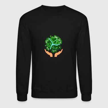 Be good to the planet - Crewneck Sweatshirt