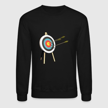 archery arrow bow crossbow target sports24 - Crewneck Sweatshirt