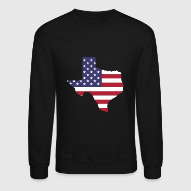 Texas patriotic - Crewneck Sweatshirt