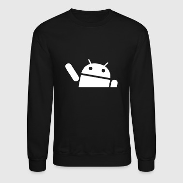Android Waving - Crewneck Sweatshirt