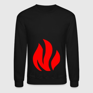 Fire Red - Crewneck Sweatshirt