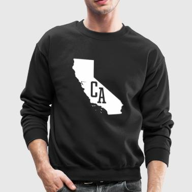 California State White - Crewneck Sweatshirt