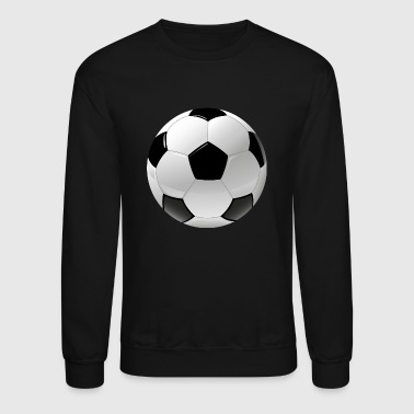 football realistic ball sport - Crewneck Sweatshirt