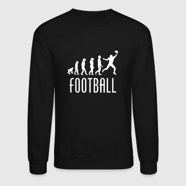 Football Evolution Wide Receiver - Crewneck Sweatshirt