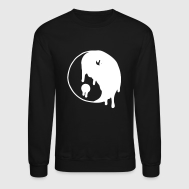 Dripping Yin Yang - Crewneck Sweatshirt