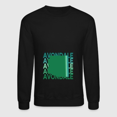 Avondale Arizona Vintage Repeat - Crewneck Sweatshirt