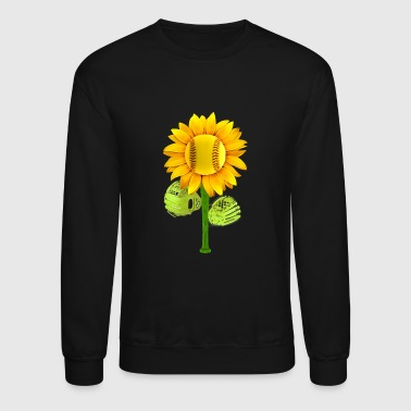 Sunflower Softball - Crewneck Sweatshirt