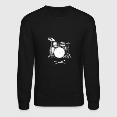 Drum Set - Crewneck Sweatshirt