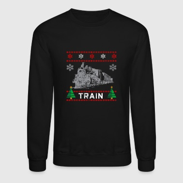 Locomotive Christmas locomotive - Crewneck Sweatshirt