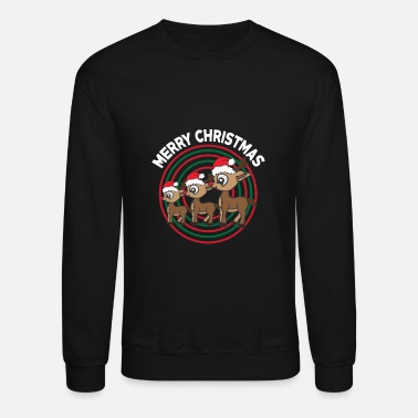 Christmas Present Merry Christmas - Reindeer - presents - Christmas - Crewneck Sweatshirt