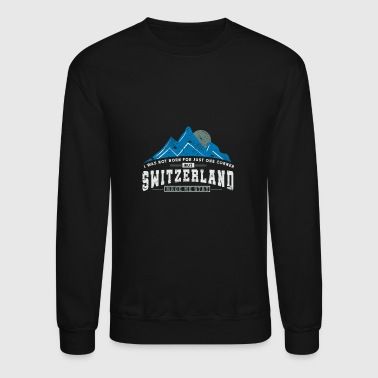 Switzerland Switzerland Mountains - Crewneck Sweatshirt