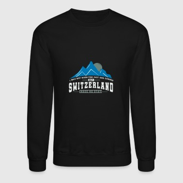 Switzerland Switzerland Fun Present - Crewneck Sweatshirt