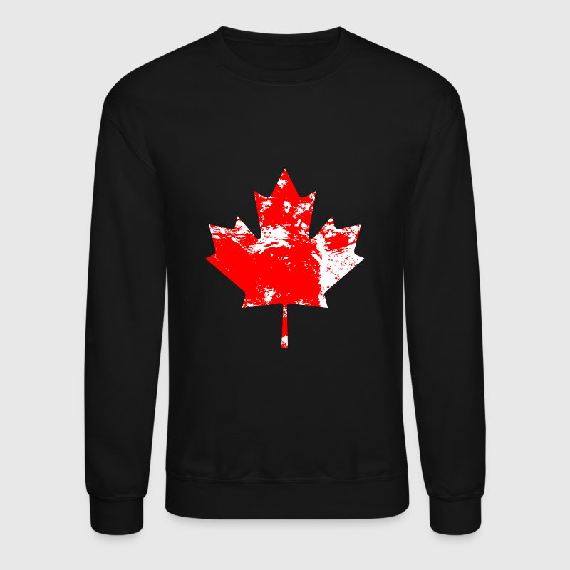 Canadian Maple Leaf - Vintage Look - Crewneck Sweatshirt