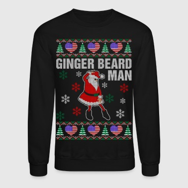 Ginger Beard American Man - Crewneck Sweatshirt