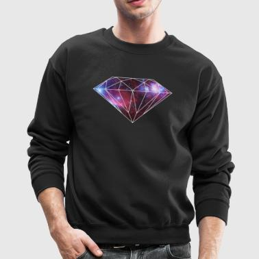 diamondgalaxy.gif - Crewneck Sweatshirt