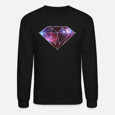 Hipster diamondgalaxy.gif - Crewneck Sweatshirt