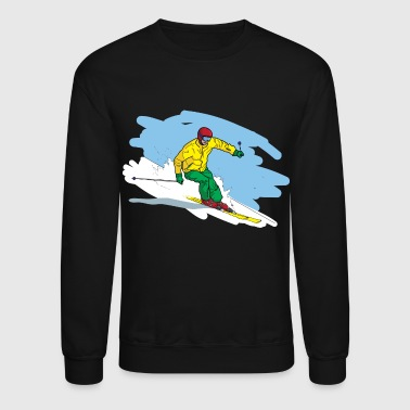 Downhill Skiing - Crewneck Sweatshirt
