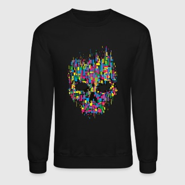 Hacker Hacker Skull Anonymous - Crewneck Sweatshirt