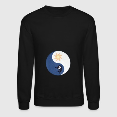 Celestia And Luna Yin Yang T shirt - Crewneck Sweatshirt