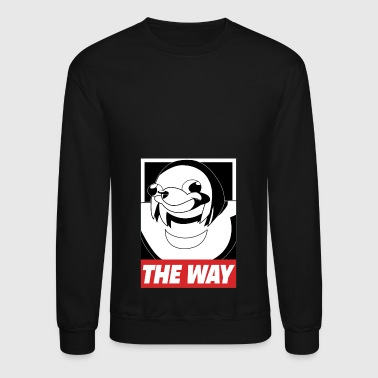 OBEY THE WAY Ugandan knuckles - Crewneck Sweatshirt