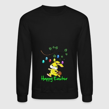 Easter, easter bunny, easter egg, easter, happy - Crewneck Sweatshirt