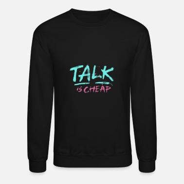 Talk talk - Crewneck Sweatshirt