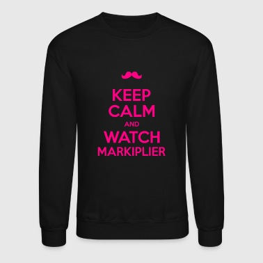Markiplier - Keep calm and watch markiplier tee - Crewneck Sweatshirt