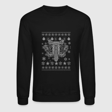 Motorcycle - Christmas motorcycle gift sweater - Crewneck Sweatshirt