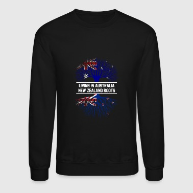 New Zealand - New Zealand roots living in austr - Crewneck Sweatshirt