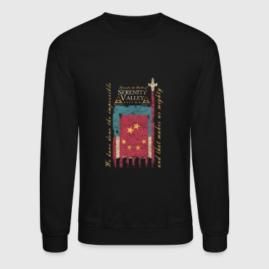 The battle of Serenity valley - Make us mighty - Crewneck Sweatshirt