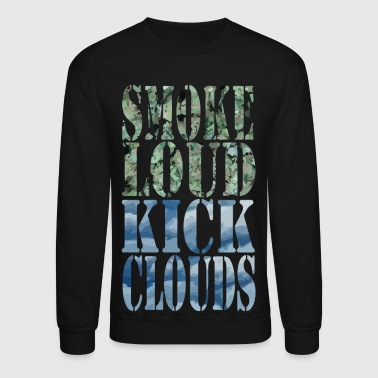 Clouds Smoke Loud Kick Clouds - Crewneck Sweatshirt