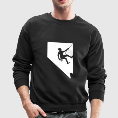 Nevada Rock Climbing - Crewneck Sweatshirt