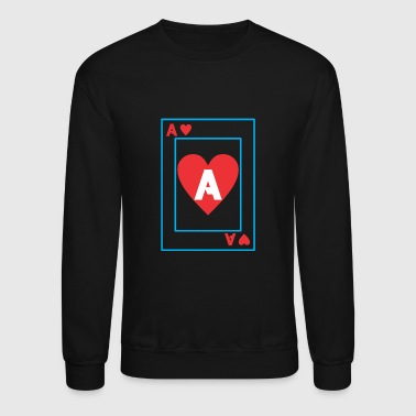 A playing card - Crewneck Sweatshirt