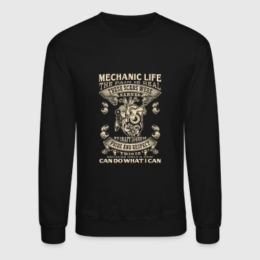 Mechanic Life - Crewneck Sweatshirt